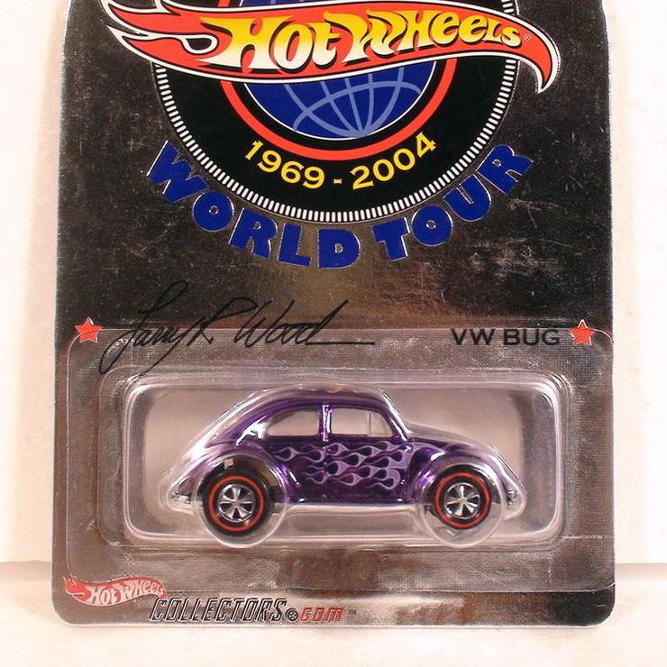 Larry Wood World Tour Purple VW Bug Beetle Limited From 1989 - $$$