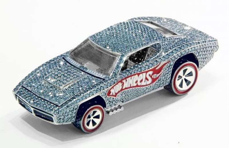 Diamond Encrusted Hot Wheel From 2008 - $140,000