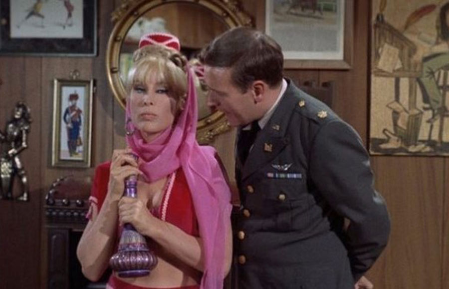 The Actress Kept The Jeannie Bottle