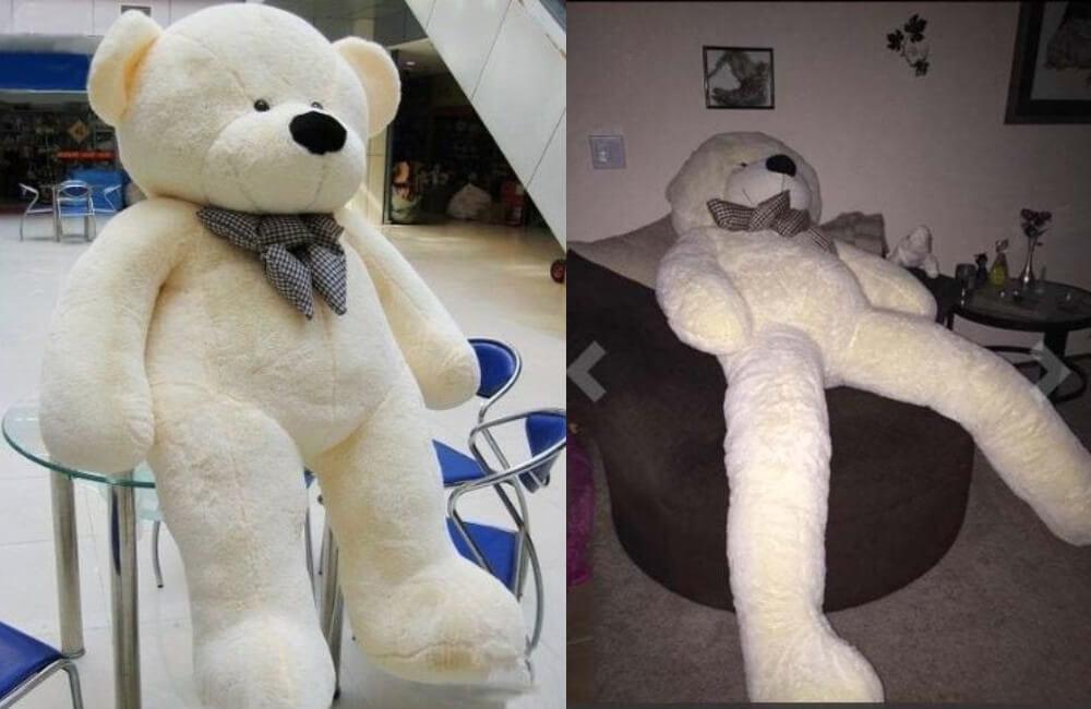 Life-Sized Teddy Bear