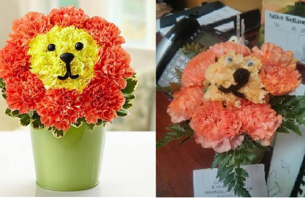 Animal Flower Bouquet
