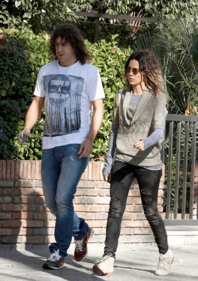 Carles Puyol Y Giselle Lacouture