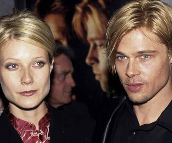 Gwyneth Paltrow Y Brad Pitt
