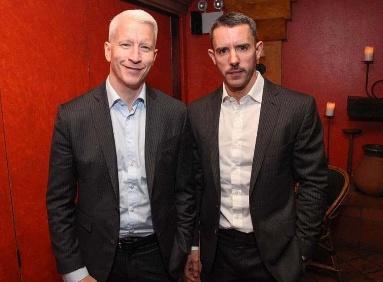 Anderson Cooper e Benjamin Maisani