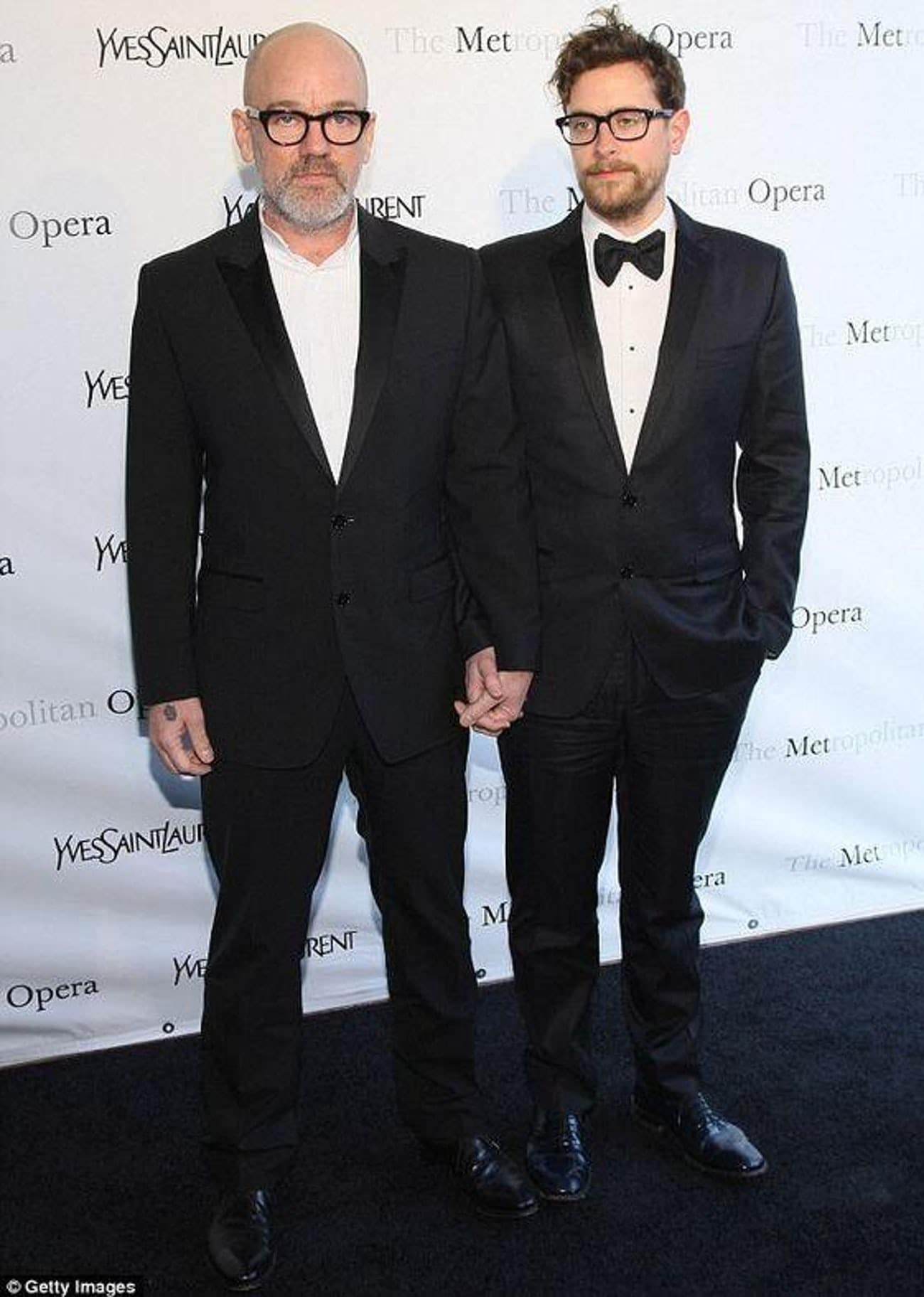 Michael Stipe e Thomas Dozol