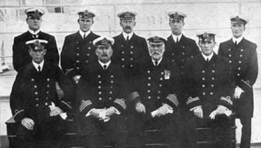 RMS Titanic L'equipaggio