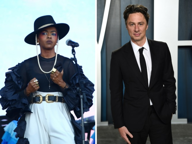 Lauryn Hill And Zach Braff