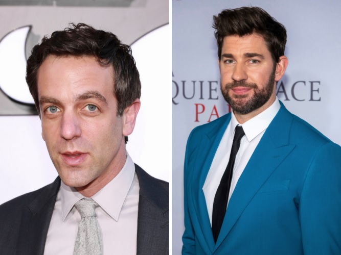 B.J. Novak And John Krasinski