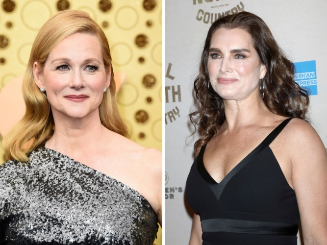 Laura Linney And Brooke Shields