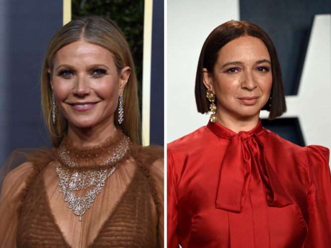 Gwyneth Paltrow And Maya Rudolph