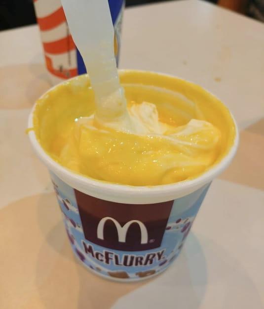 Durian Flavor McFlurry