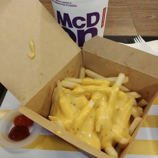 "McDonald's ""Loaded"" Salted Egg Yolk Fries"