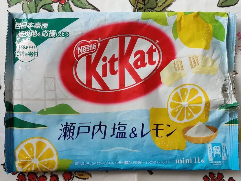 Sea Salt Lemon Kit Kat