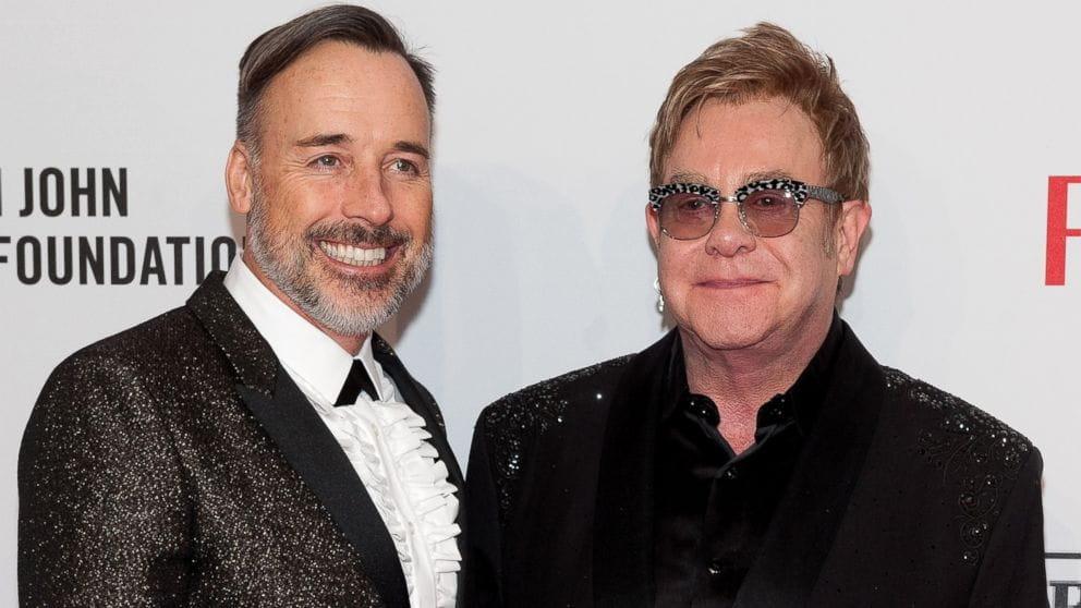 Elton John E David Furnish