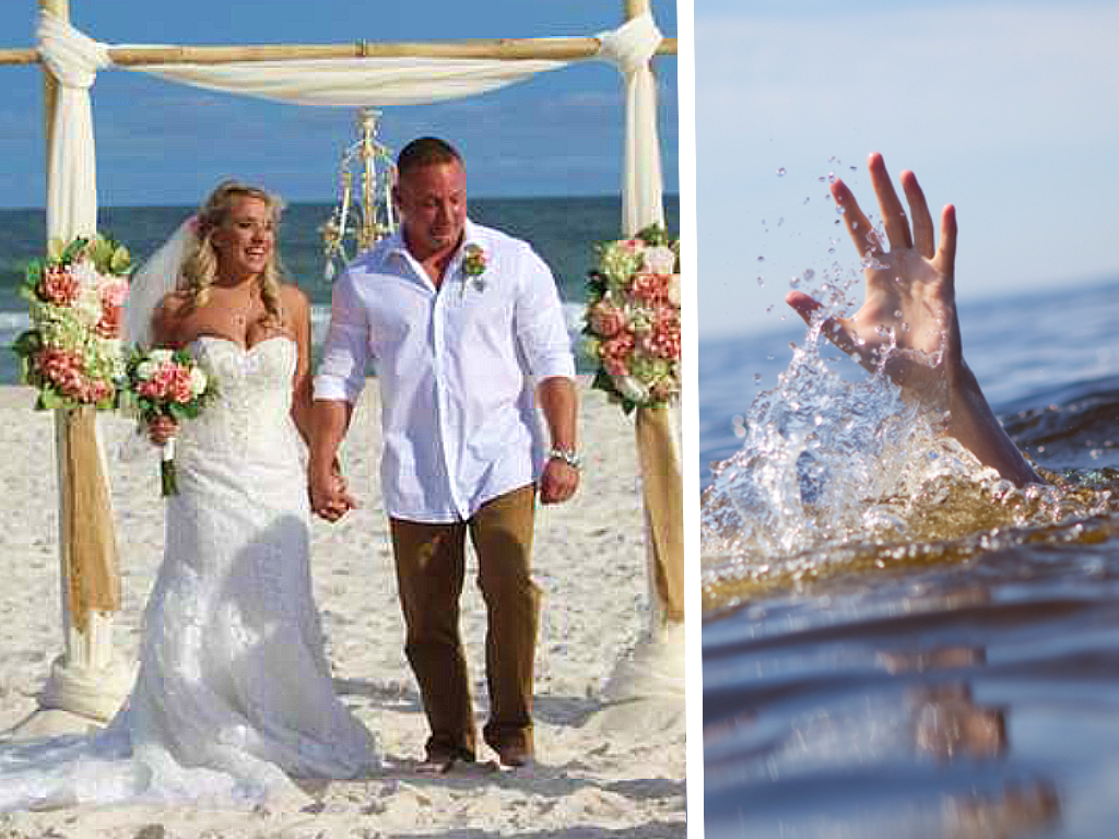They Wanted An Unforgettable Wedding, But No One Expected That The Groom Would Dive Into The Ocean