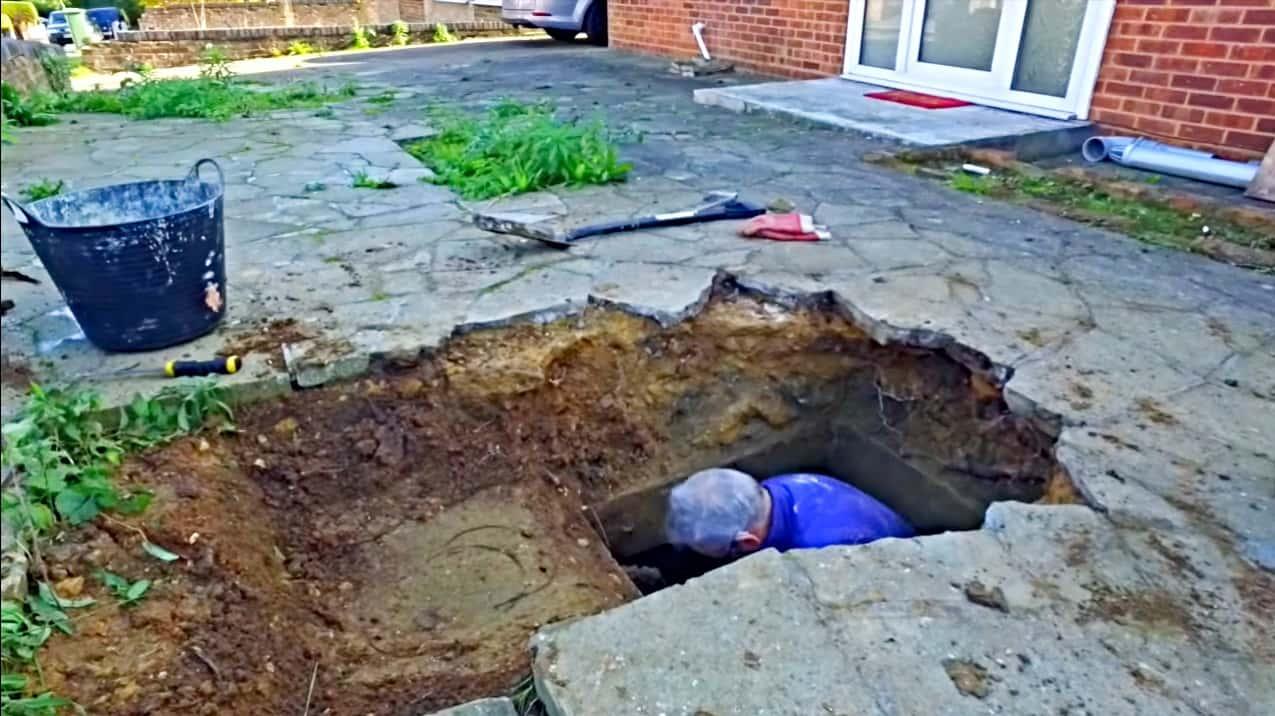 Below The Ground