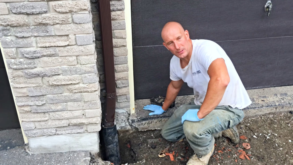 New Homeowner Decided To Investigate After Wearing Weird Noises Under His Driveway