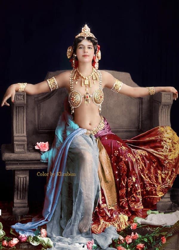 Mata Hari Era Una Vera Icona