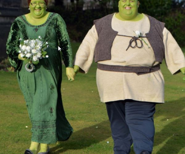 Shrek And Fiona In Real Life