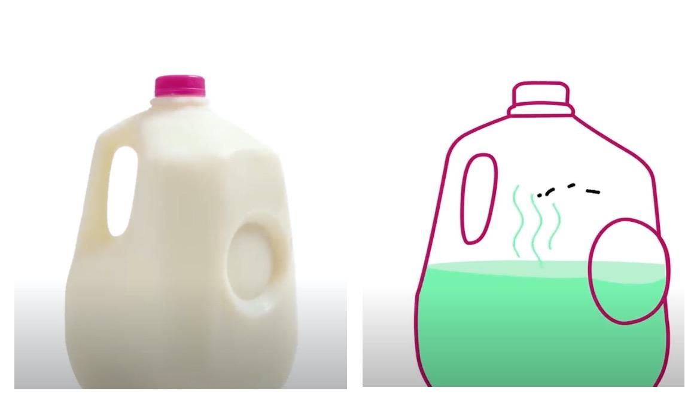 Plastik Süt Kutusu