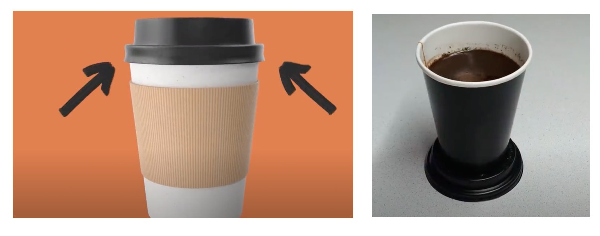 Karton Kahve Kutusu