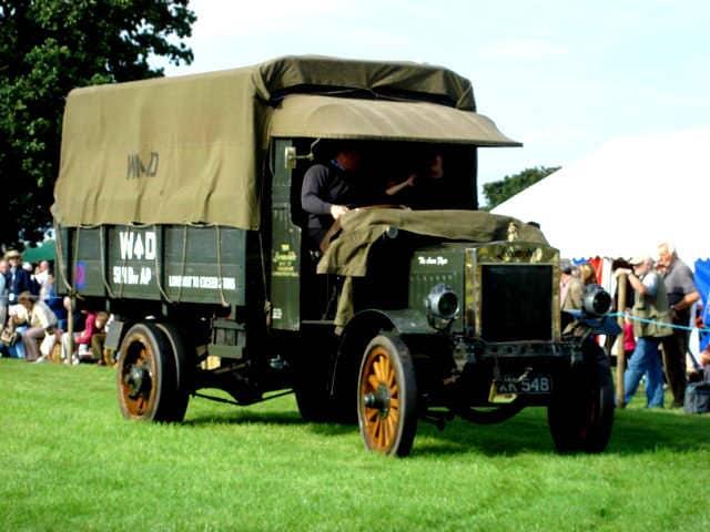 World War One Army Truck