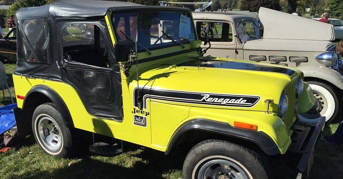 Jeep CJ 8 Scrambler