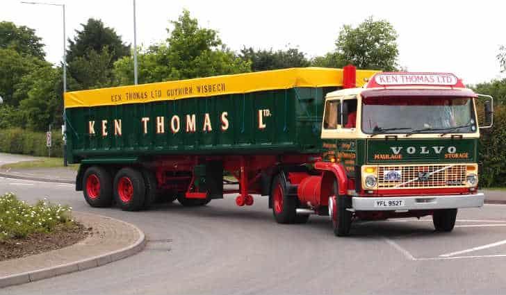Ken Thomas Ltd Volvo F7