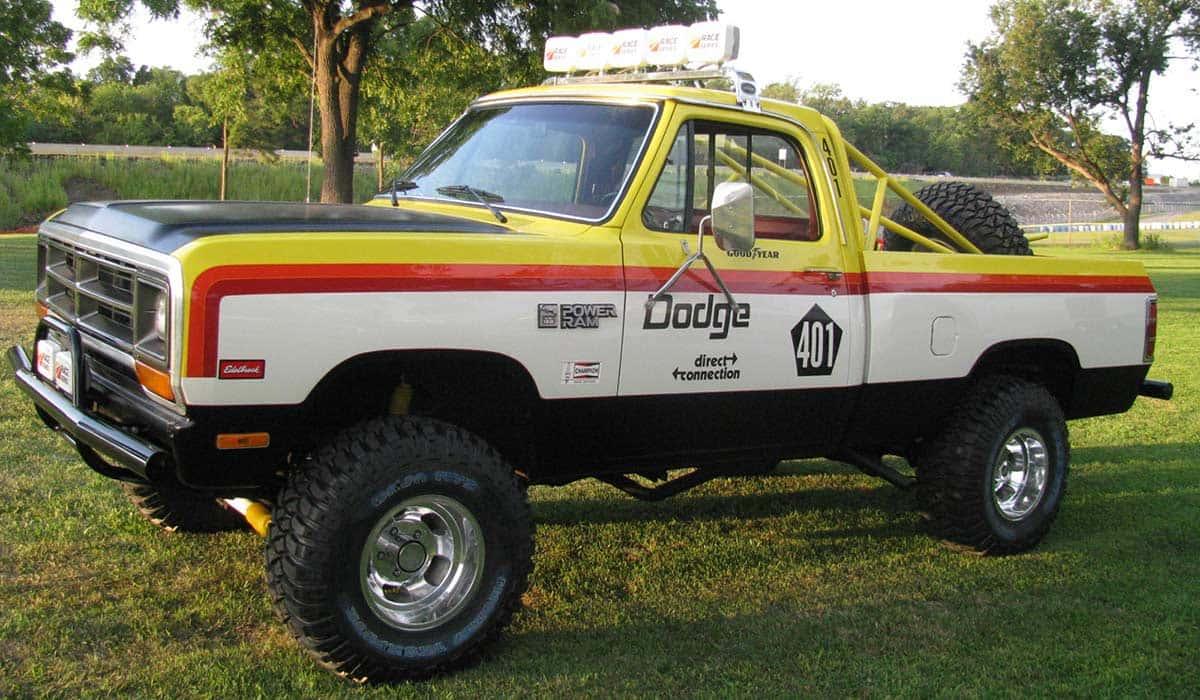Dodge Ram Rod Hall Signature Edition