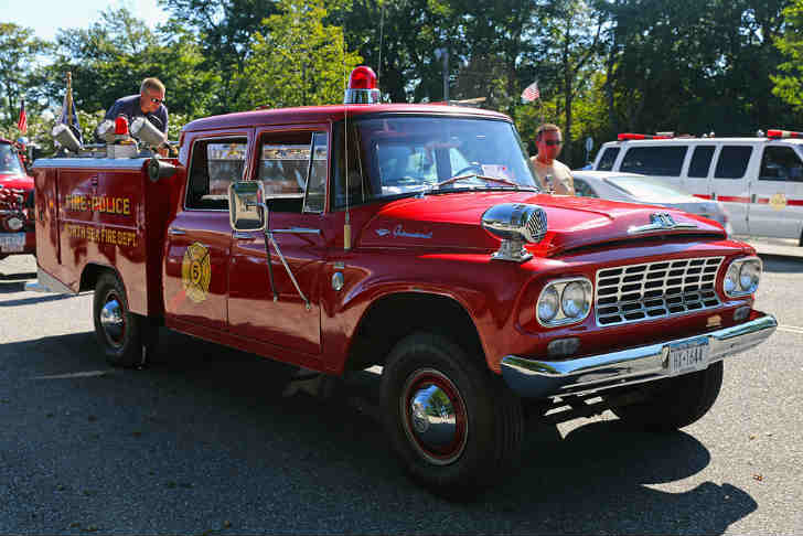 International C120 Utility Fire Truck