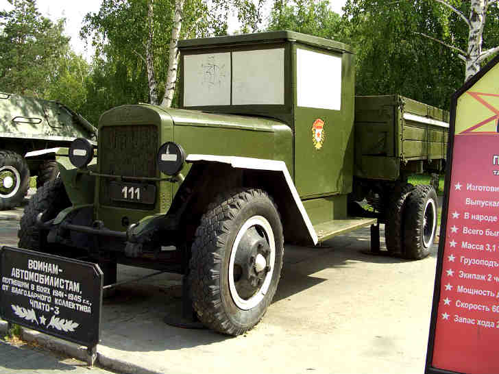 Russian Military Truck