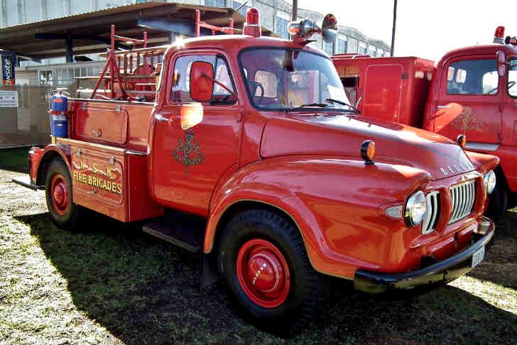 Bedford J1 Fire Truck