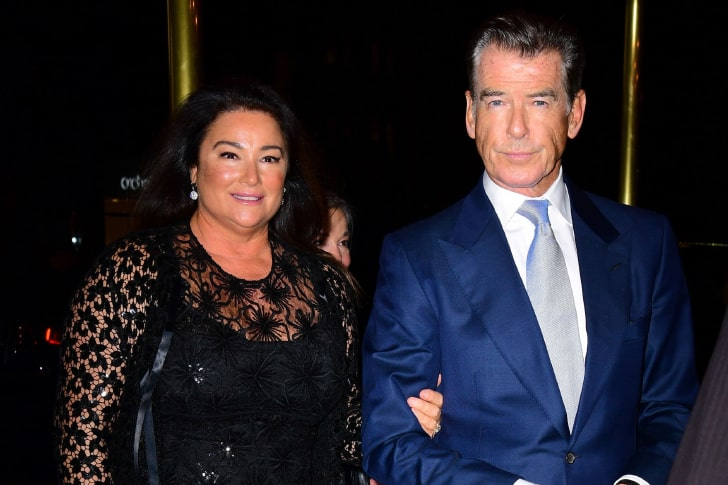 PIERCE BROSNAN & KEELY SHAYE SMITH