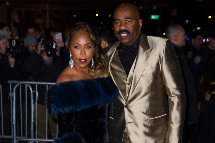 STEVE HARVEY & MARJORIE ELAINE HARVEY