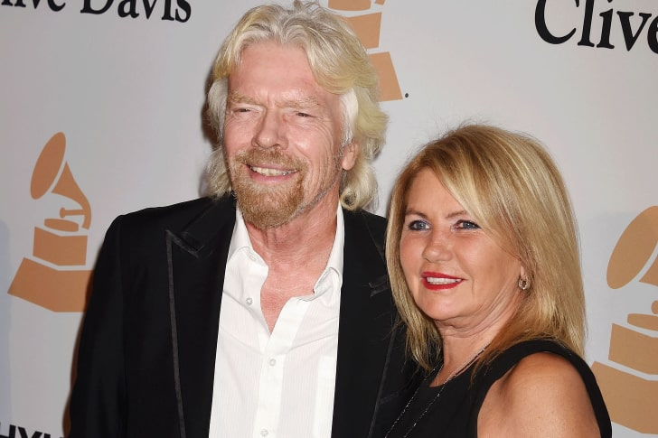 RICHARD BRANSON & JOAN TEMPLEMAN