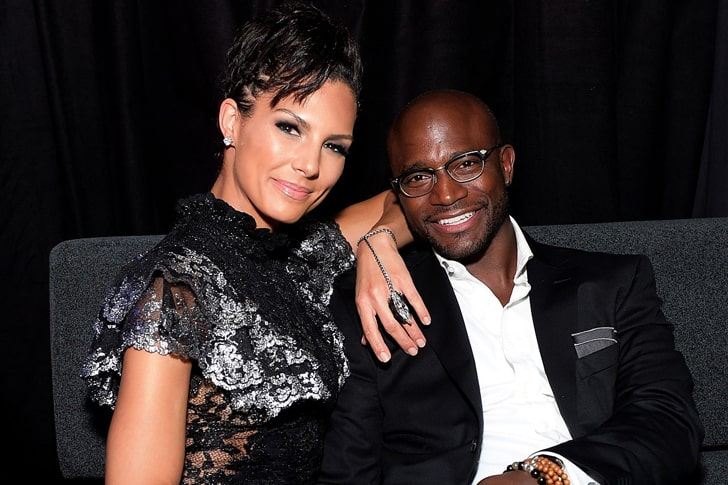 TAYE DIGGS & AMANZA SMITH