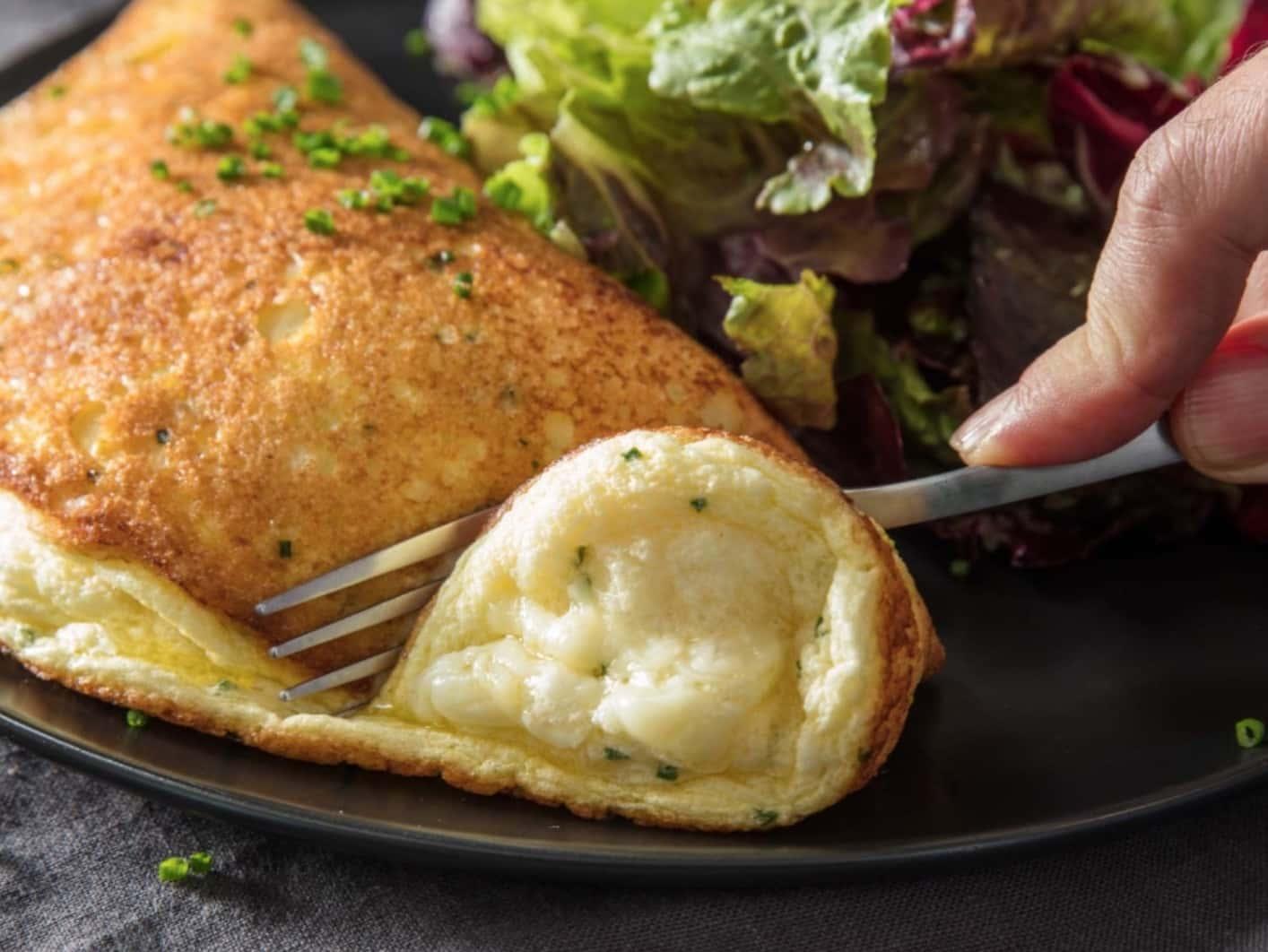 Kabarık Omlet