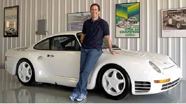 Jerry Seinfeld Et Sa Porsche