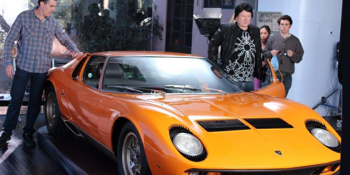 Adam Carolla Et Sa Lamborghini