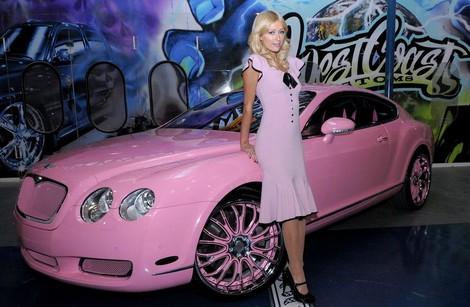 La Bentley De Paris Hilton