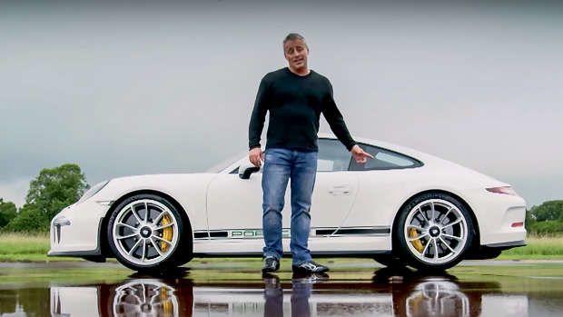 Matt Leblanc Et Sa Porsche