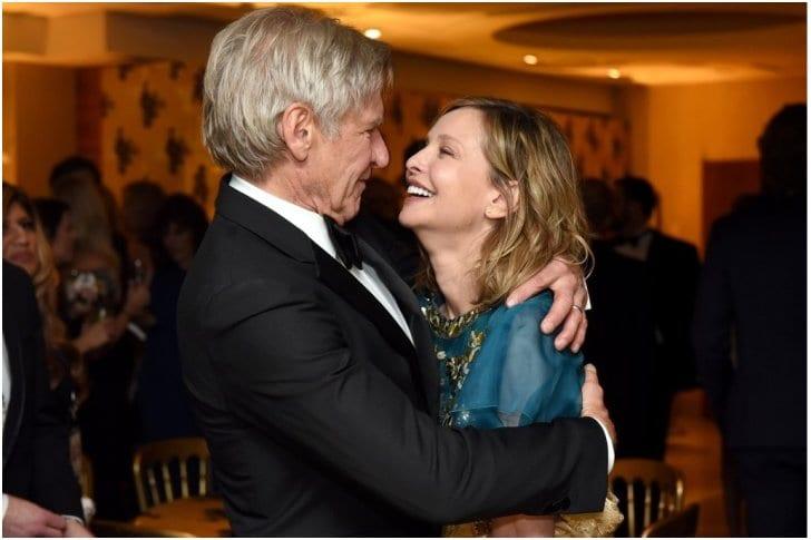 Harrison Ford Y Calista Flockhart 16 Años