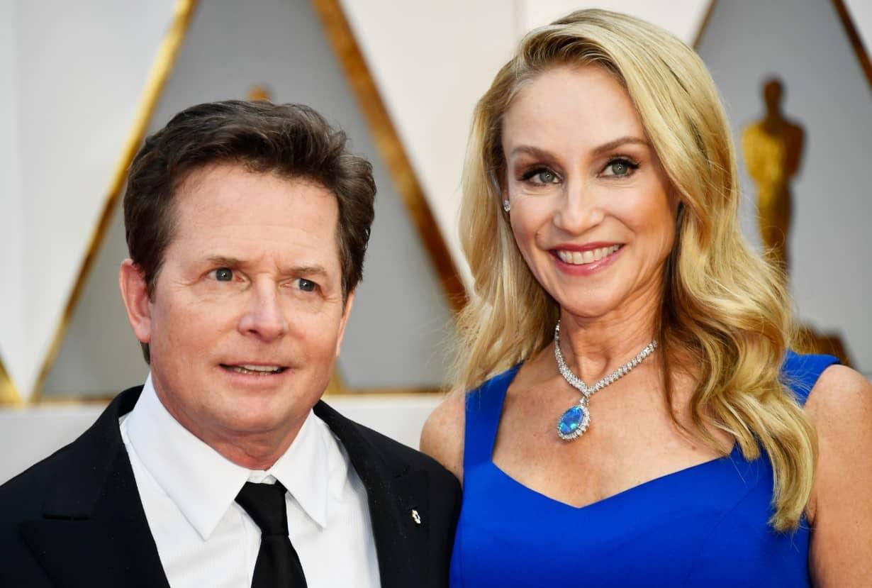 Michael J. Fox Y Tracy Pollan 32 Años