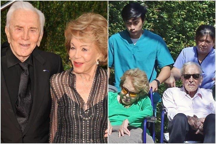 Kirk Douglas Y Anne Buydens 65 Años