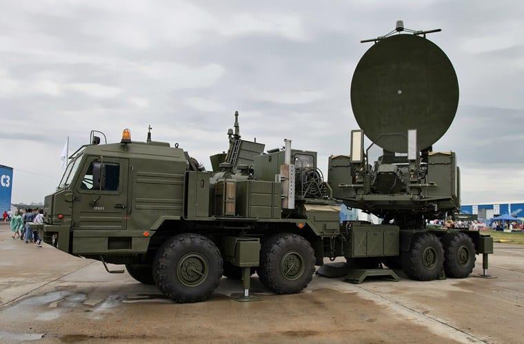 KRASUKHA 24 Electronic Warfare System