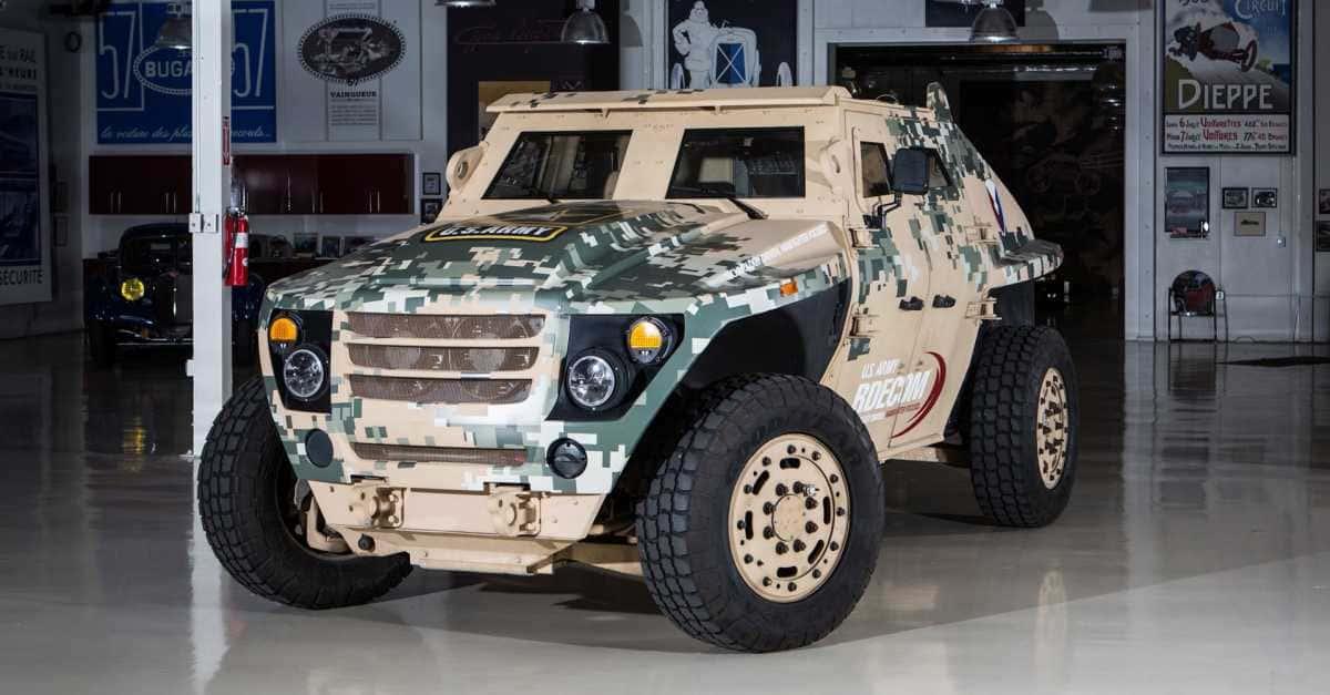 Fed Alpha Armored Car