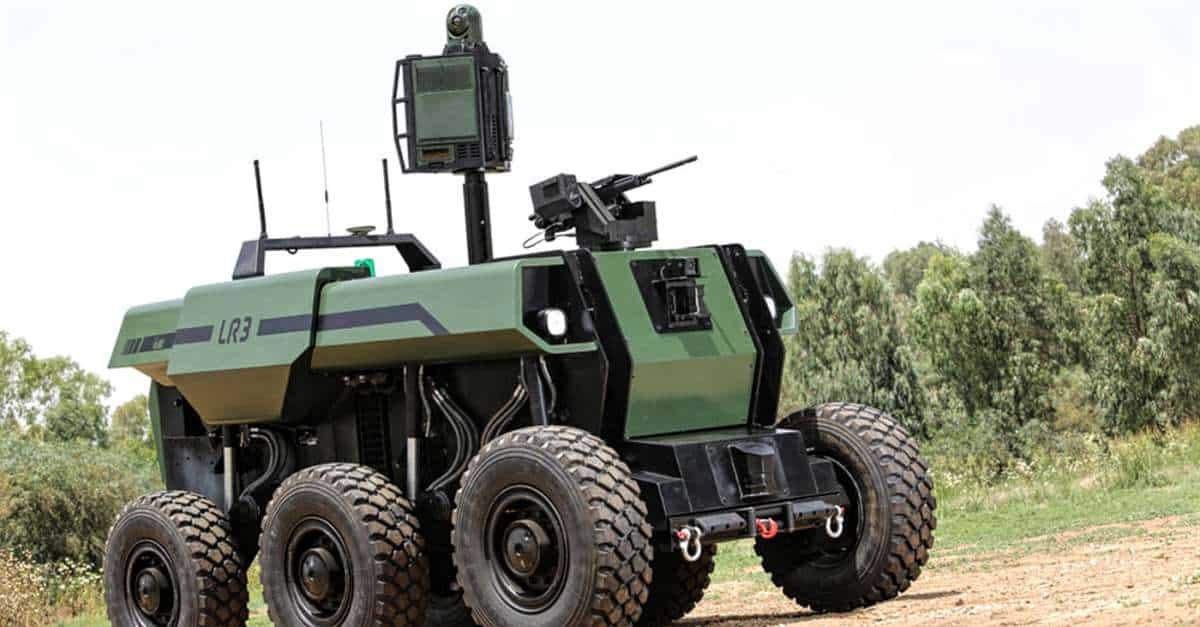 """RoBattle"" Unmanned Ground Vehicle"