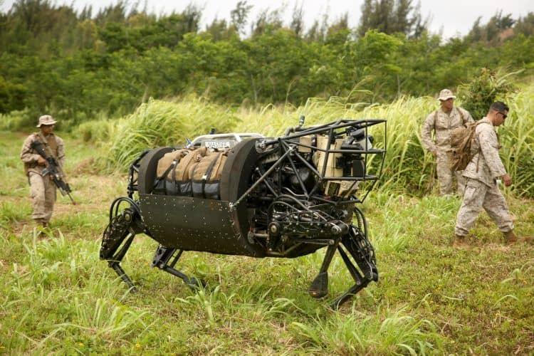 BigDog Military Robot