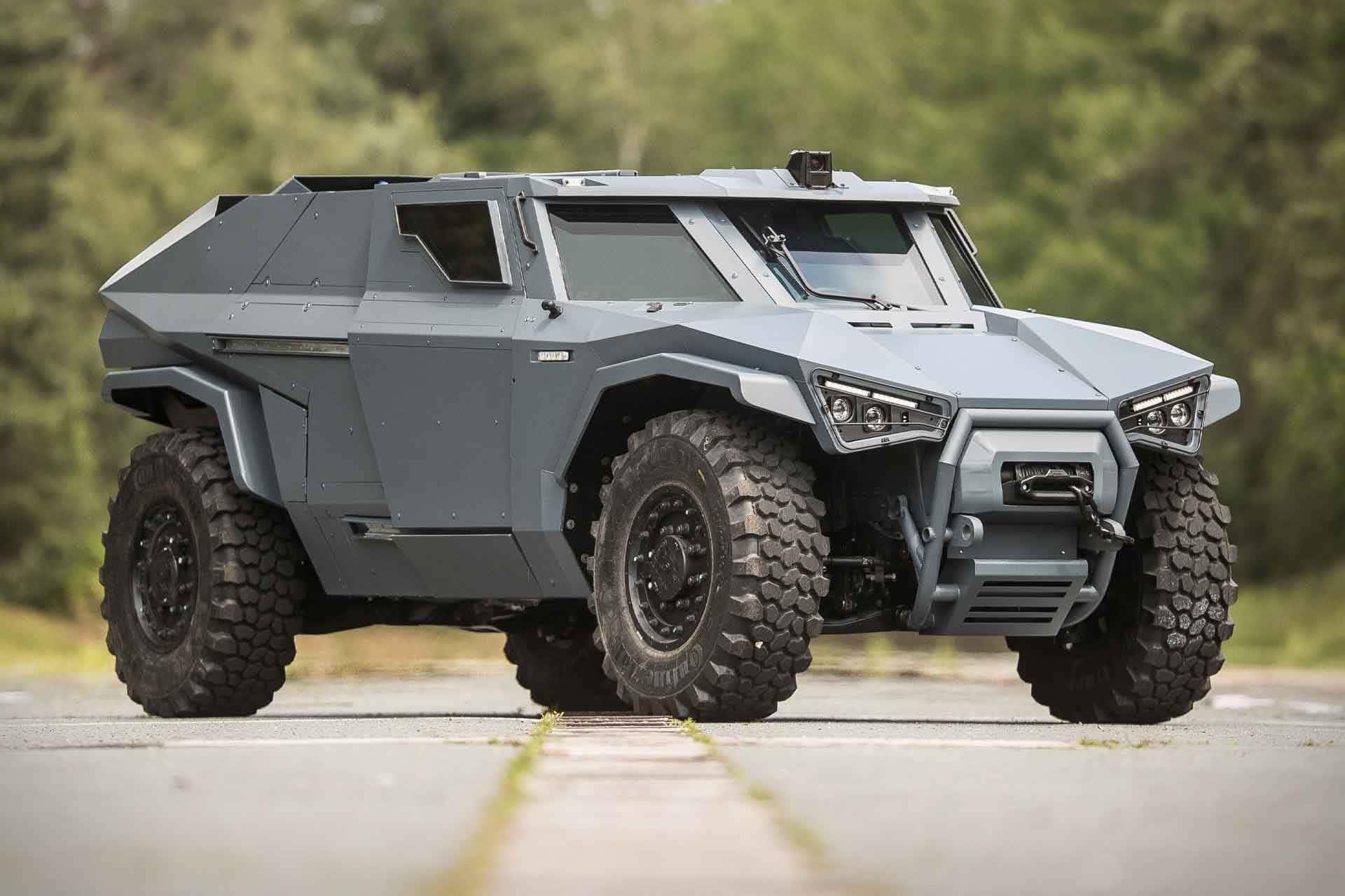 Arquus Scarabee Armored Vehicle