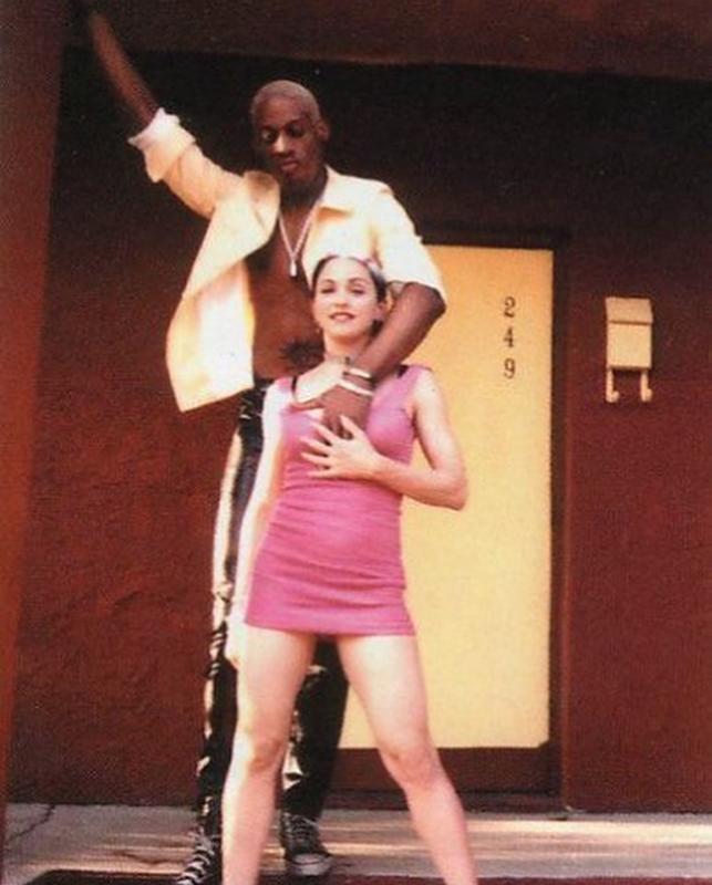 Dennis Rodman & Madonna